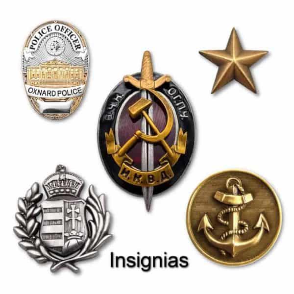 insignias personalizadas