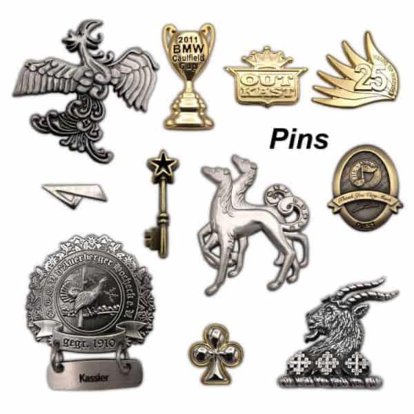 emblemas personalizados