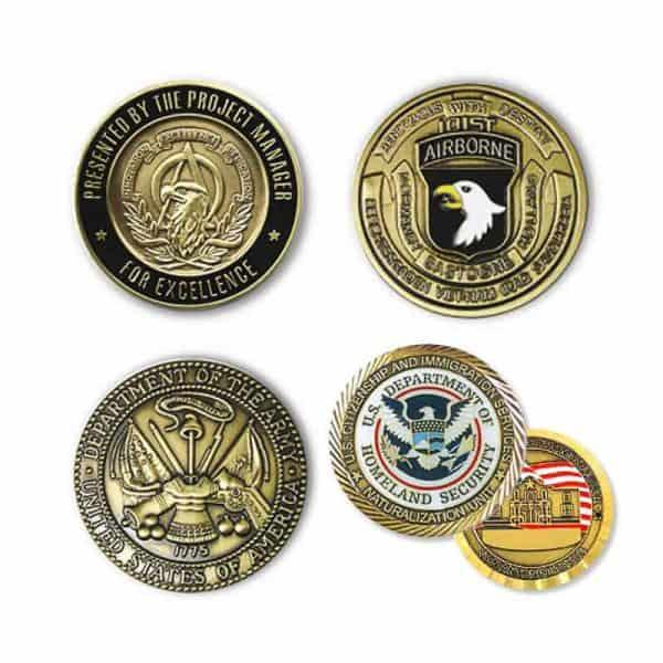 Monedas y Medallas Troqueladas en Bronce