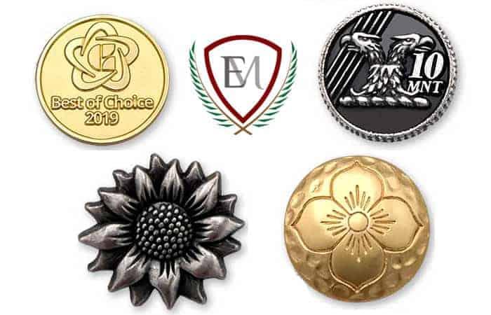 botones de metal personalizados emblemarket