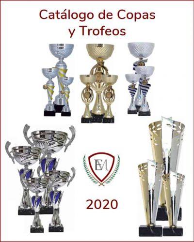 Portada catálogo copas y trofeos 2020