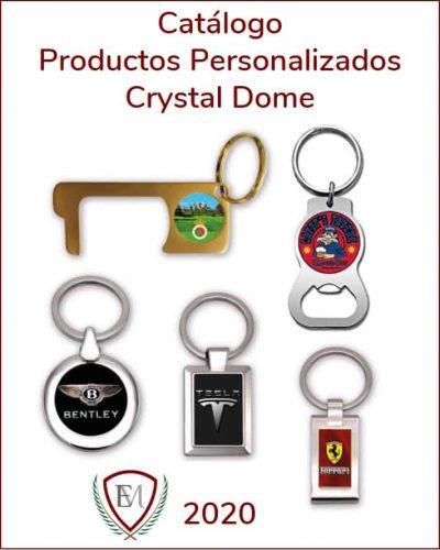 portada catálogo crystal dome 2020